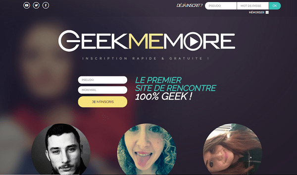 Interface geekmemore