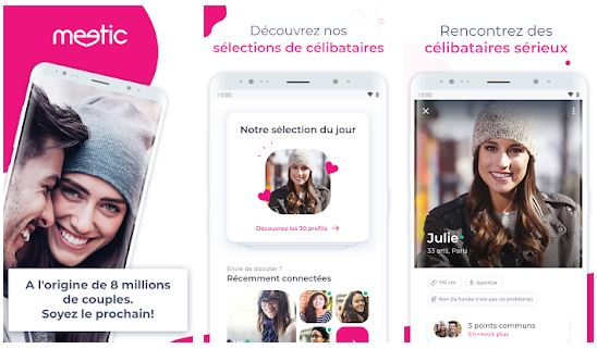 avis application Meetic